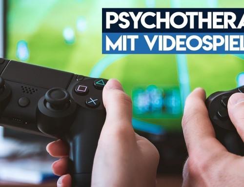 Videospiele in der Psychotherapie – Depressionen und Angst loswerden durch Videospiele?