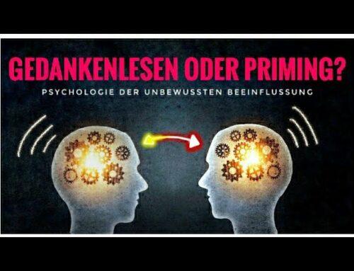 Psychologie-Experiment: Telepathie, Gedankenlesen oder Priming?