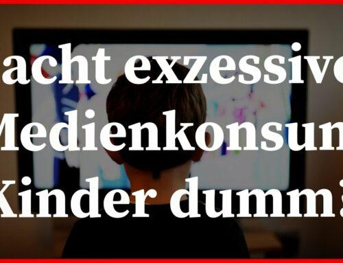 Erziehungspsychologie: Auswirkungen von exzessivem Medienkonsum auf Konzentration und Schulleistungen