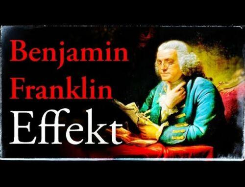 FREUNDE GEWINNEN wie Benjamin Franklin 🤔 – Funktioniert der BENJAMIN FRANKLIN EFFEKT wirklich?